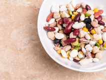 Mixed Dried Beans Royalty Free Stock Image