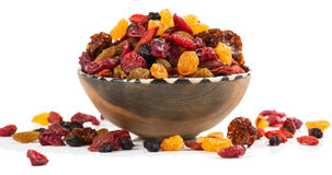 Mixed dried berries Royalty Free Stock Image