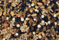 Mixed dried fruit Royalty Free Stock Photos