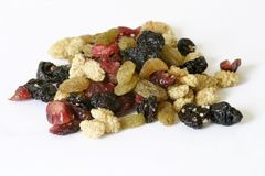 Mixed Dried Fruit Royalty Free Stock Photography