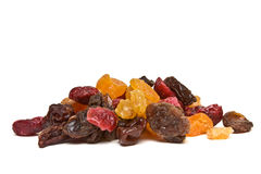 Mixed Dried Fruits Royalty Free Stock Images