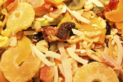 Mixed Dried fruits Stock Image