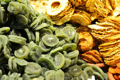 Mixed dried fruits Royalty Free Stock Photography