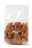 Mixed dried fruits Stock Images