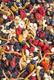 Mixed dried nuts as background in Spice Bazaar. Istanbul, Turkey Royalty Free Stock Photography