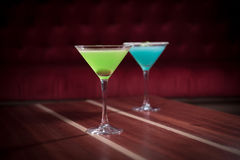 Mixed drinks Royalty Free Stock Photography