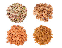 Mixed dry fruits Royalty Free Stock Photo