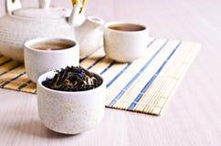 Mixed dry tea Stock Photos