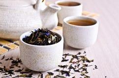 Mixed dry tea Stock Photo