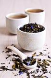 Mixed dry tea Royalty Free Stock Photos