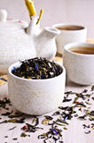 Mixed dry tea Stock Photography