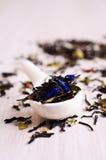 Mixed dry tea Royalty Free Stock Photo