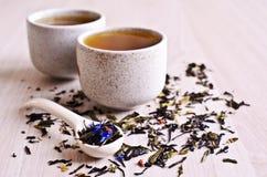 Mixed dry tea Stock Image