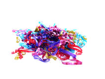 Mixed elastic bands Royalty Free Stock Image
