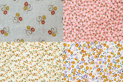 Mixed Fabric Royalty Free Stock Images