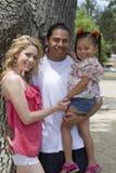 Mixed Family Royalty Free Stock Photo
