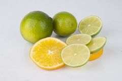 Mixed Fresh Fruits Royalty Free Stock Photos