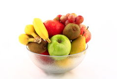 Mixed fresh fruits Stock Photo