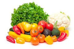Mixed Fresh Vegetables Royalty Free Stock Image