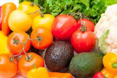 Mixed Fresh Vegetables Royalty Free Stock Images