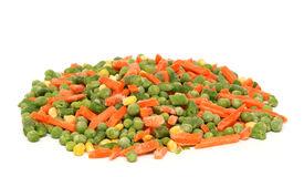 Mixed Frozen Vegetables Royalty Free Stock Photo