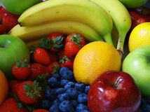 Mixed Fruit. Collection of mixed fruit royalty free stock photography