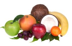 Mixed fruit Royalty Free Stock Photos