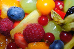 Mixed fruit berries Royalty Free Stock Image