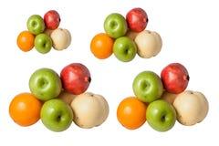Mixed Fruit ,  isolated on white background. Mixed Fruit , Oranges, apples, pomegranates isolated on white background Royalty Free Stock Photography