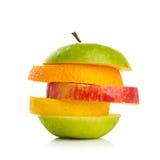 Mixed Fruit isolated on white background Royalty Free Stock Photo