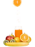 Mixed fruit Juice Stock Photos