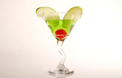 Mixed Fruit Martini Stock Image