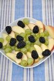 Mixed fruit salad Stock Image