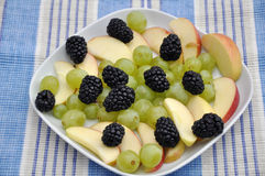 Mixed fruit salad Royalty Free Stock Photography