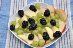 Mixed fruit salad Royalty Free Stock Photography