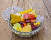 Mixed fruit salad Stock Photography