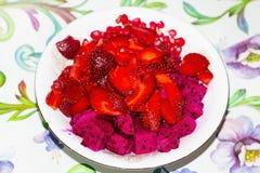 Mixed Fruit Salad Stock Photo