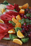 Mixed fruit selection Royalty Free Stock Photo