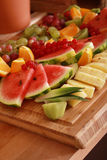 Mixed fruit selection Stock Images