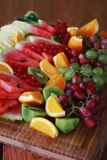Mixed fruit selection Stock Photo