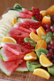 Mixed fruit selection Royalty Free Stock Image