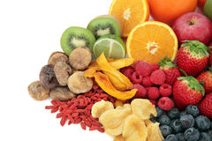 Mixed Fruit Selection Royalty Free Stock Images