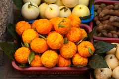 Mixed fruit sell. Royalty Free Stock Images