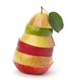 Mixed fruit slices Stock Photo