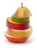 Mixed fruit slices Royalty Free Stock Photos