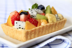 Mixed Fruit Tart Royalty Free Stock Photos