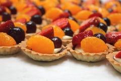 Mixed fruit tart Stock Image