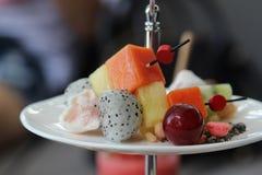 Mixed fruit. Royalty Free Stock Photo