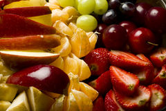 Mixed fruits Royalty Free Stock Photos