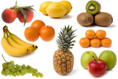 Mixed fruits Royalty Free Stock Image
